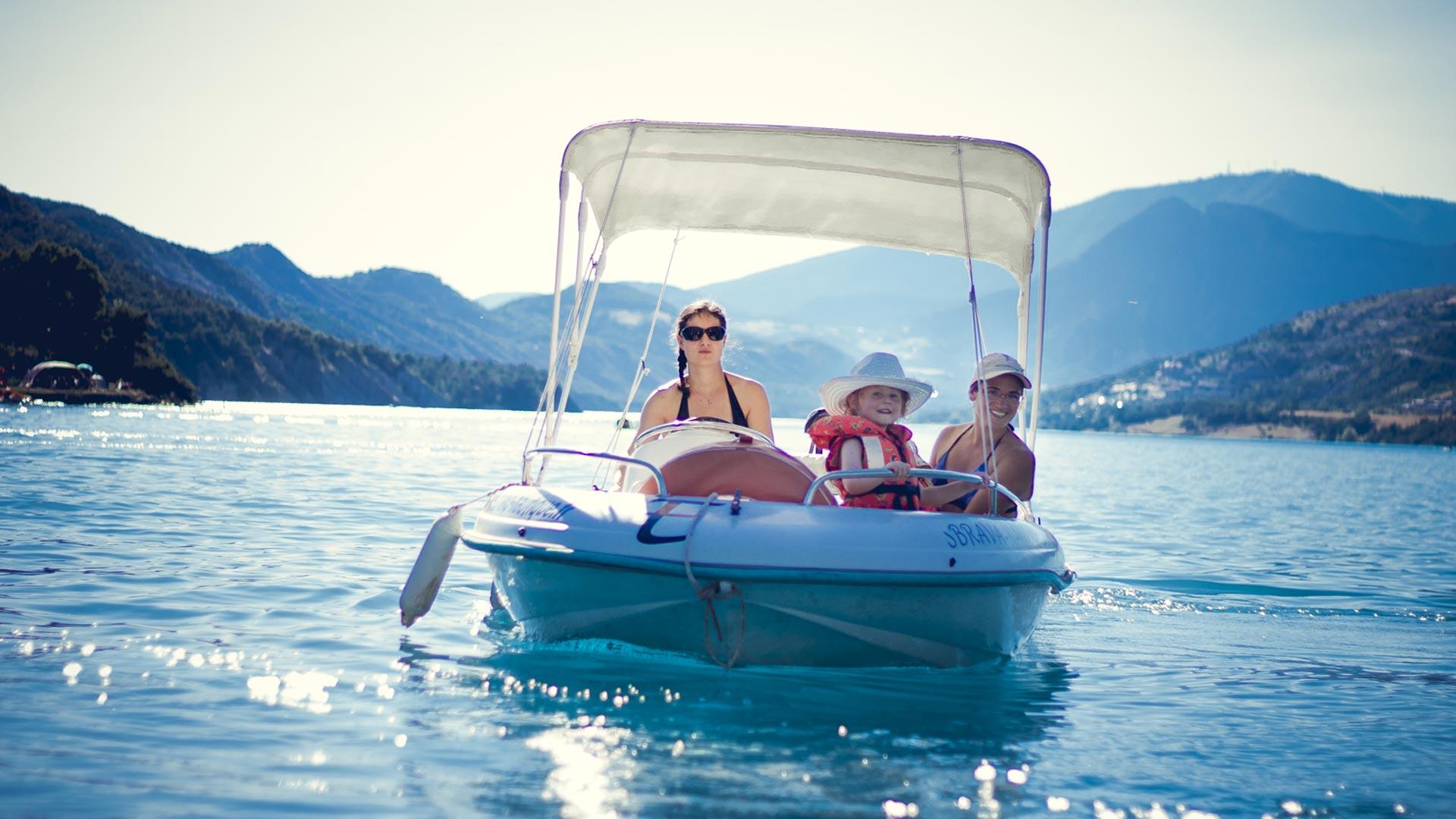 bateau electrique location ubaye